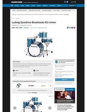 Ludwig Questlove Breakbeats Kit