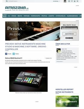 Preview: Native Instruments Maschine Studio & Maschine 2 Software, Groove-Controller