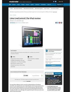 Liine LiveControl 2 for iPad