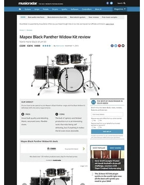 Mapex Black Panther Widow Kit