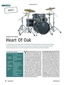 Yamaha Live Custom - Heart Of Oak