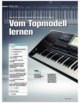 Korg Pa900 und seine Konkurrenten von Roland und Yamaha