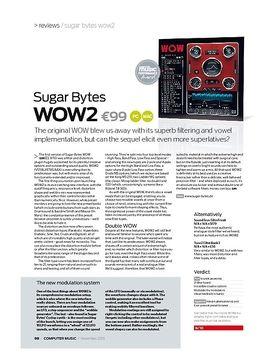 Sugar Bytes WOW2