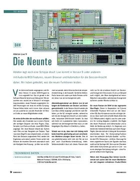 Test Recording: Ableton Live 9