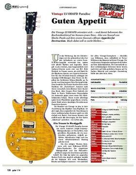 gear e-gitarre: Vintage LV100AFD Paradise