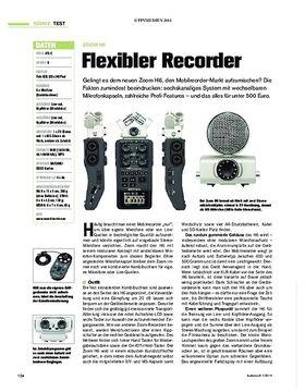 Zoom H6 - Flexibler Recorder