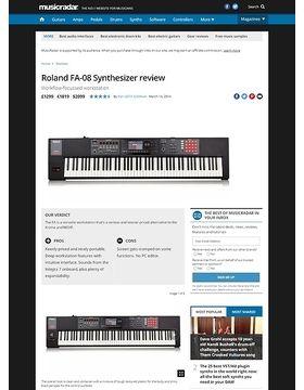 Roland FA-08 Synthesizer