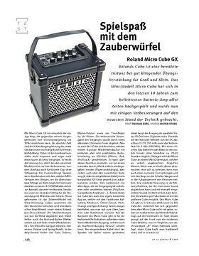 Roland Micro Cube GX, Mini-Combo