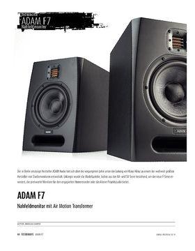 ADAM F7 - Studiomonitor