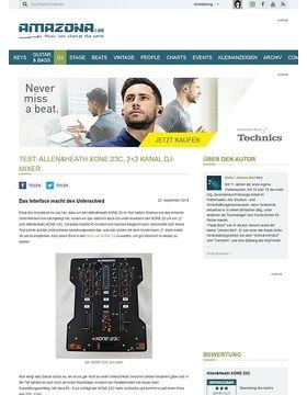Test: Allen&Heath XONE:23C, 2+2 Kanal DJ-Mixer