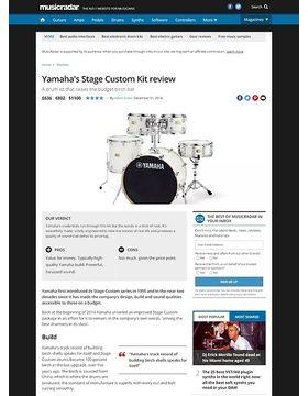 Yamaha's Stage Custom Kit