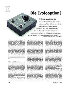 TC Electronic Ditto X2, Looper