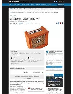 Orange Micro Crush Pix