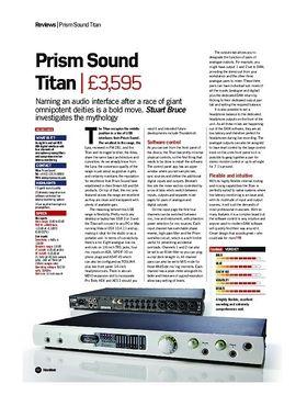 Prism Sound Titan