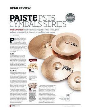 Paiste PST5 Cymbal Series