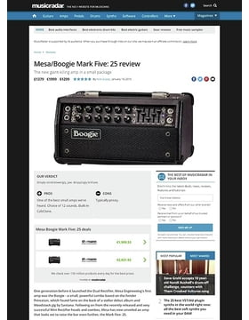 MESA/Boogie Mark Five: 25