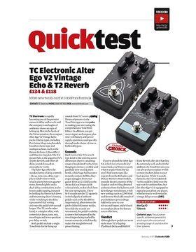 TC Electronic T2 Reverb & Alter Ego V2