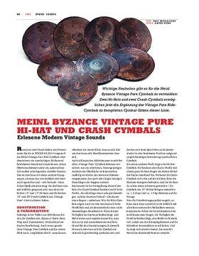Meinl Byzance Vintage Pure Hi-Hats & Crash-Cymbals