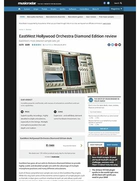 EastWest Hollywood Orchestra Diamond Edition