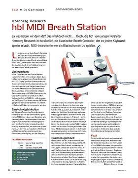 Hornberg Research hb1 MIDI Breath Station