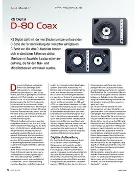 KS Digital D-80 Coax