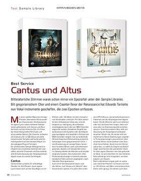 Best Service Cantus und Altus
