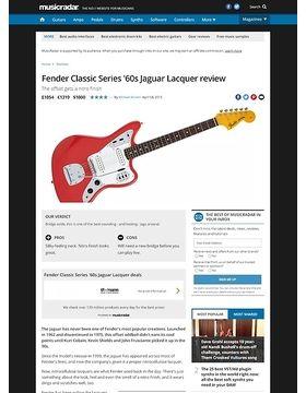 Fender Classic Series '60s Jaguar Lacquer