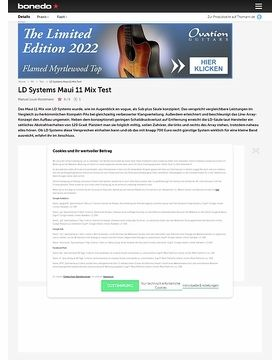 LD Systems Maui 11 Mix