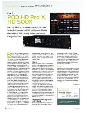 Line 6 POD HD X