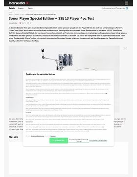 Sonor Player SSE 13
