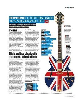 Epiphone Ltd Edition Union Jack Sheraton Outfit