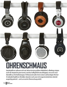 Kopfhörer-Vergleichstest
