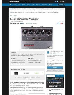 Keeley Compressor Pro