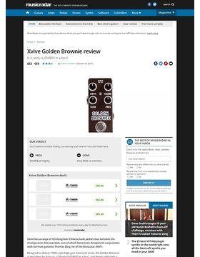 Xvive Golden Brownie