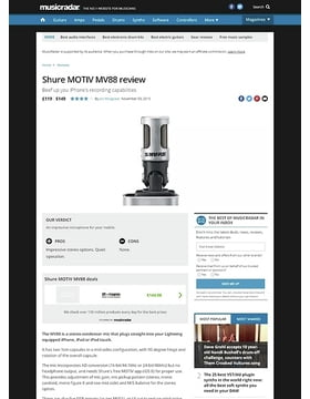Shure MOTIV MV88