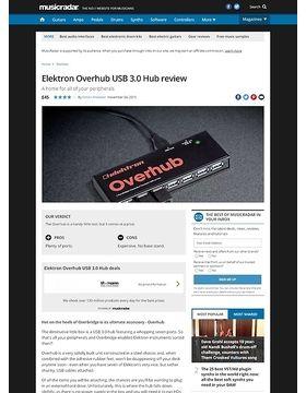 Elektron Overhub USB 3.0 Hub