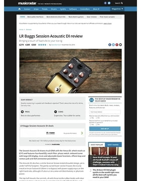 LR Baggs Session Acoustic DI