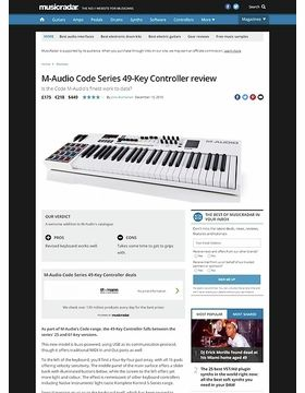 M-Audio Code Series 49-Key Controller