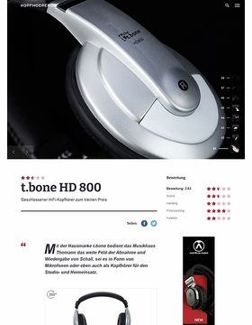 the t.bone HD 800