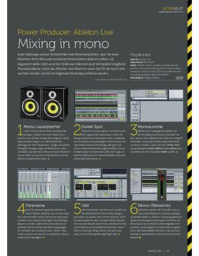 Ableton Live - Mixing in mono