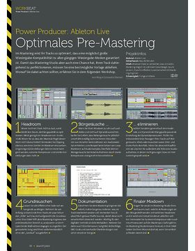Ableton Live - Optimales Pre-Mastering