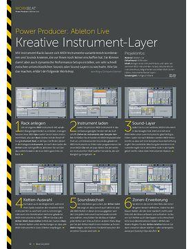 Ableton Live - Kreative Instrument-Layer