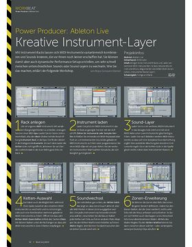 Ableton Live - Kreative Instrument-Layer