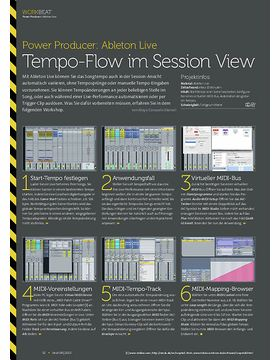 Ableton Live - Tempo-Flow im Session View