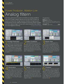 Ableton Live - Analog filtern