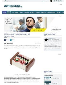 Test: Soulsby Atmegatron, 8 Bit Synthesizer