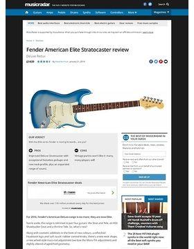 Fender American Elite Stratocaster