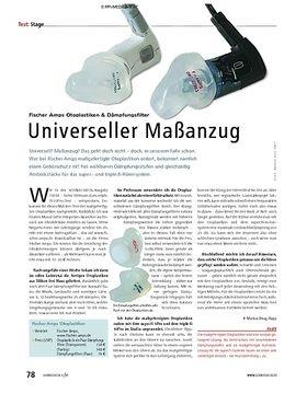 Test: Fischer Amps Otoplastiken & Dämpfungsfilter – Universeller Maßanzug