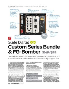 Slate Digital Custom Series Bundle & FG-Bomber