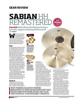 Sabian HH Remastered